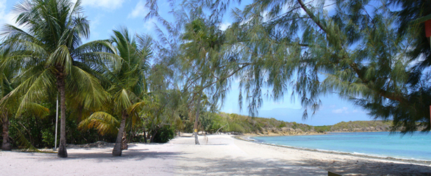 Seven Seas Beach in Fajardo offers good camping