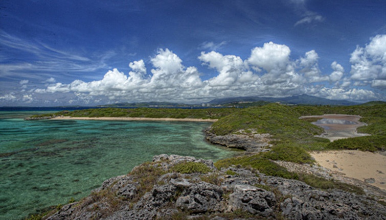 The backside of Icacos Island