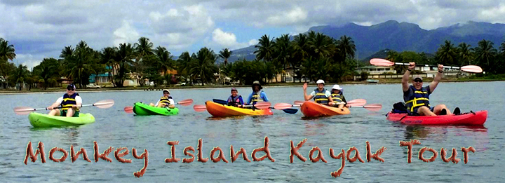 kayak tour to monkey island with snorkeling from Punta Santioago
