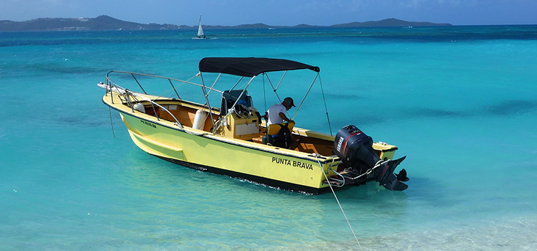 Water Taxi from Fajardo to Icacos