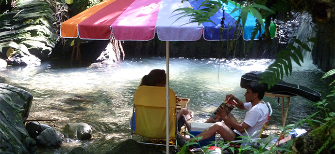 Picnic day at Juan Diego Falls