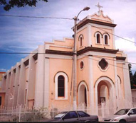 Salinas church in plaza