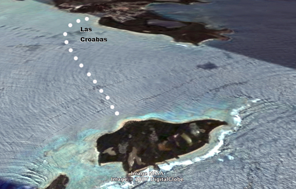 MAP how to get to Icacos Beach