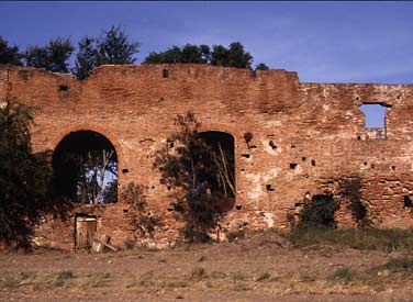 Old Sugar Plantation ruins near Santa Isabel on the south coast of Puerto Rico