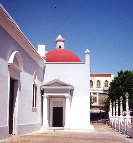 Ponce Plaza church in Puerto Rico