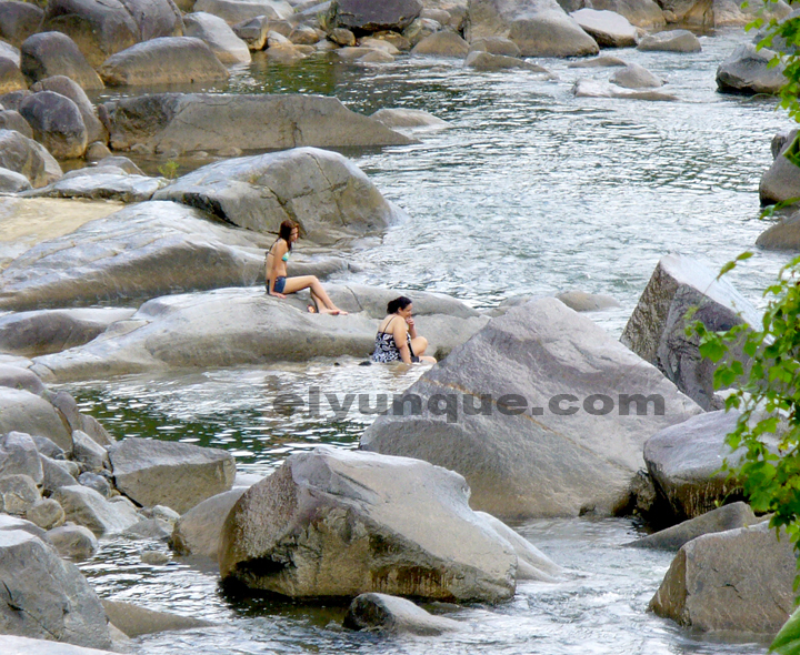 Rio Blanco a favorite place to wet your feet