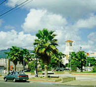 Luquillo town plaza